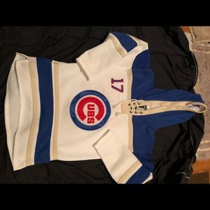 Cubs stitched hockey jersey